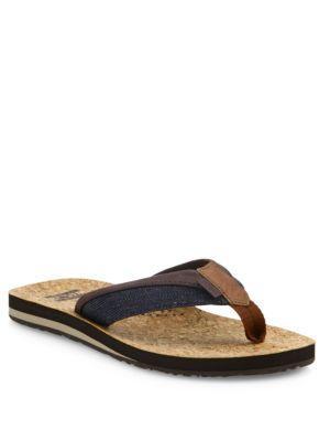 Toms Santiago Denim Flip-flops