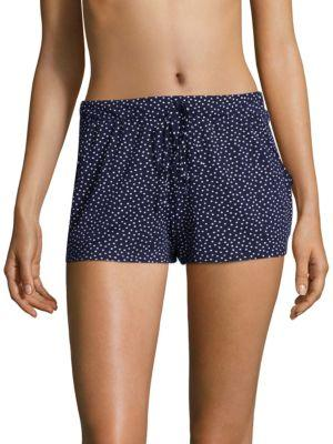 In Bloom Dotted Elasticized Shorts