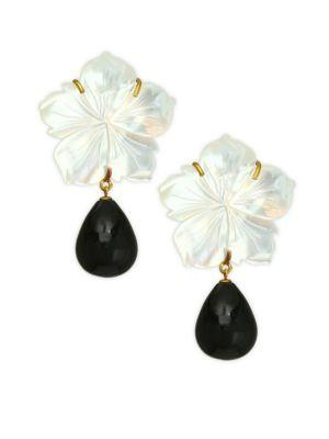 Lizzie Fortunato Paperwhite Earrings