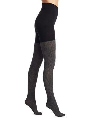 Spanx Cozy Cableknit Tights