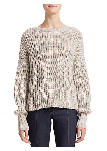 Cinq A Sept Cierra Chunky Bow Sweater