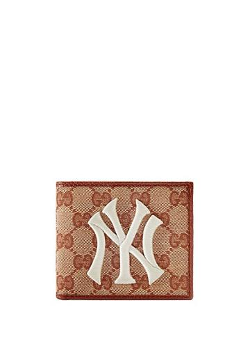 Gucci Original Gg Canvas Wallet With New York Yankees Patch™