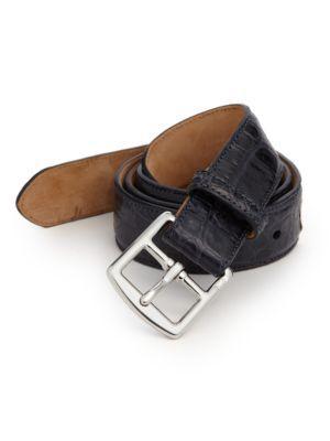 Polo Ralph Lauren Crocodile Harness-buckle Belt