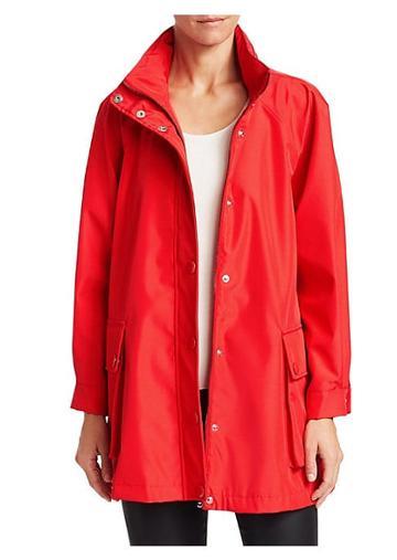 Emporio Armani Flap Pocket Rain Jacket
