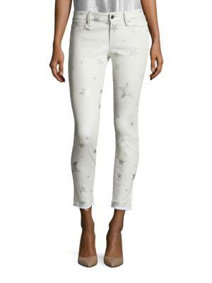 Rta Prince Star Printed Lambskin Leather Pants