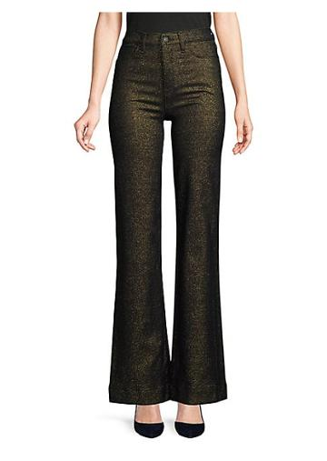 Hudson Holly High-rise Wide-leg Jeans