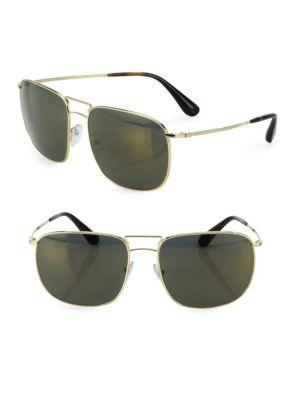 Prada 60mm Pillow Sunglasses
