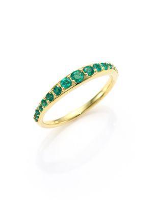 Ila Bali Emerald Ring