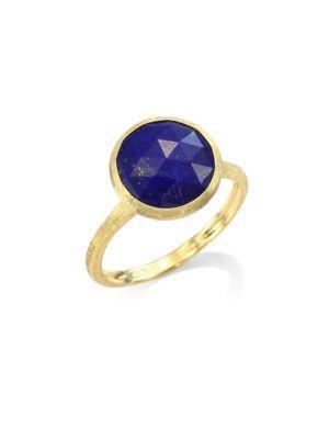Marco Bicego Jaipur Lapis & 18k Yellow Gold Ring