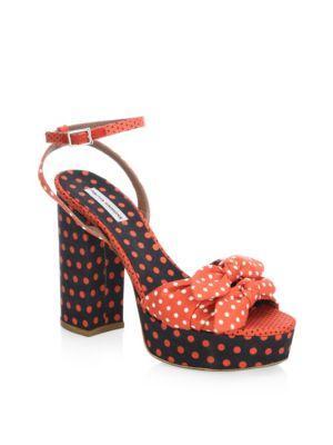 Tabitha Simmons Jodie Polka Dot Sandals