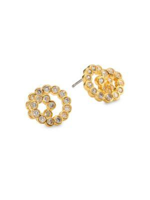 Kate Spade New York Glitz And Glam Crystal Spiral Stud Earrings