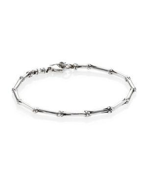 John Hardy Bamboo Sterling Silver Slim Bracelet