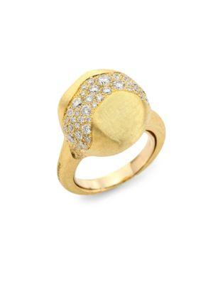 Marco Bicego Africa 18k Yellow Gold Diamond Ring