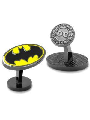 Cufflinks, Inc. Dc Comics Batman Logo Enamel Cuff Links