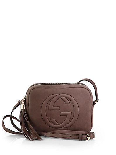 Gucci Soho Nubuck Leather Disco Bag