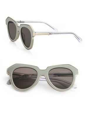 Karen Walker One Astronaut 51mm Cat Eye Sunglasses