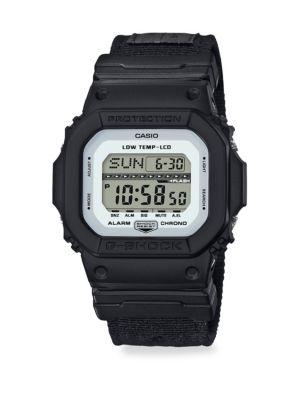 G-shock Shock & Water Resistant Cloth Strap Watch