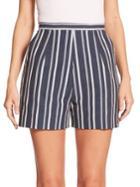 Stella Jean Lupo Striped Shorts