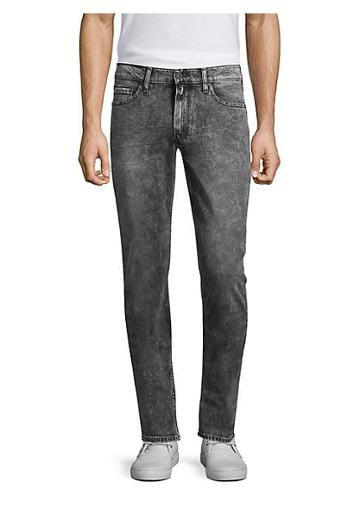 Paige Lennox Acid Wash Slim-fit Jeans