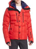 Moncler Hooded Puffer Down Jacket