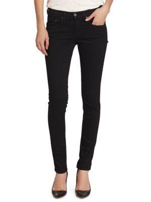 Rag & Bone/jean Monochrome Skinny Jeans