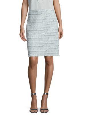 St. John Riana Tweed Skirt