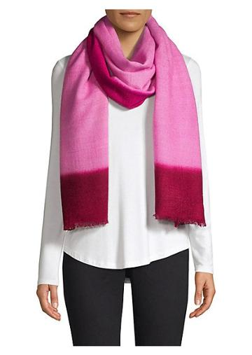 Bajra Color Block Cashmere Scarf