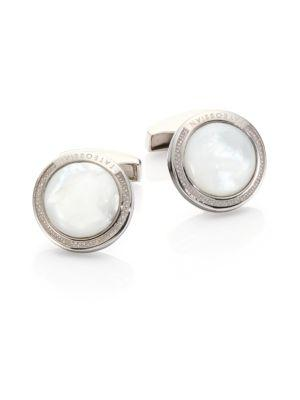 Tateossian Mother-of-pearl Cuff Links