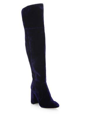 Joie Lalana Velvet Over-the-knee Boots