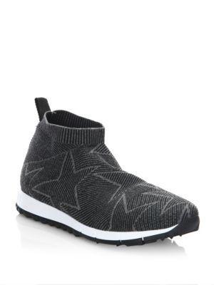 Jimmy Choo Star Knit High-top Sneakers