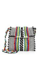 Antonello Tedde Cotton Striped Crossbody Bag