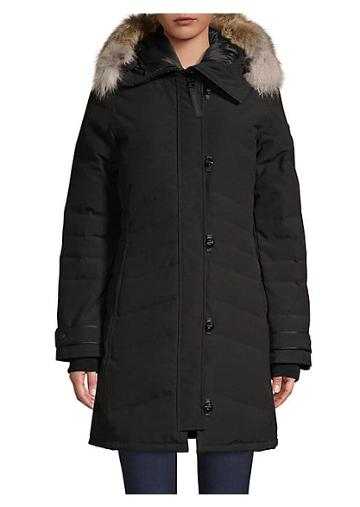 Canada Goose Coyote Fur-trimmed Down Filled Parka