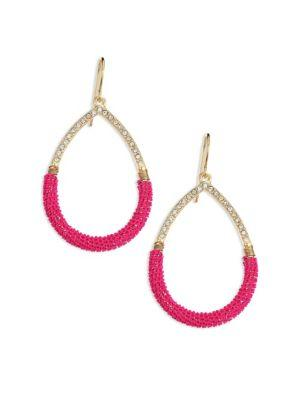 Abs By Allen Schwartz Jewelry Going Coastal Chain Wrap Teardrop Earrings
