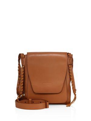 Elena Ghisellini Juno Leather Messenger Bag