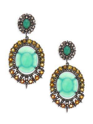 Bavna Diamond Earrings
