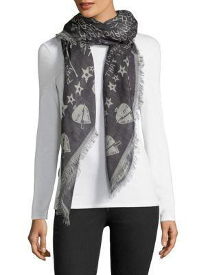 Givenchy Tour Date Wool-blend Shawl