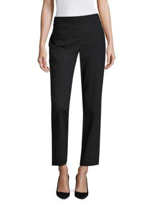 Donna Karan New York Cropped Seamed Pants