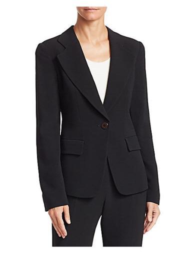 Emporio Armani Cady Tailored Blazer