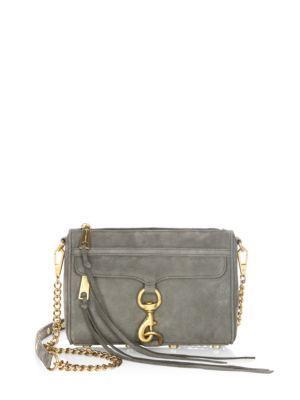 Rebecca Minkoff Mac Nubuck Leather Mini Bag