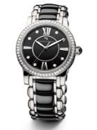 David Yurman Classic 34mm Stainless Steel Quartz Watch With Diamonds