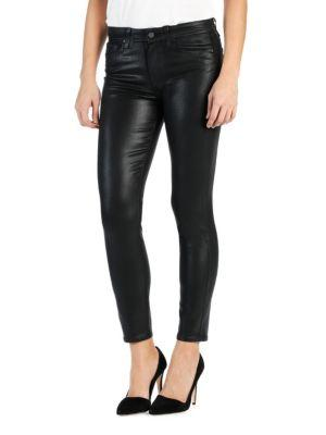Paige Hoxton Coated Ankle Pants