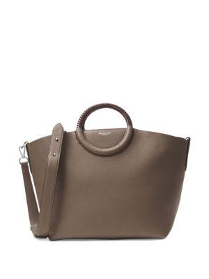 Michael Kors Collection Elephant Leather Tote