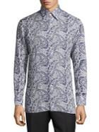 Canali Paisley Printed Shirt