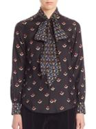Marc Jacobs Printed Long Sleeves Top