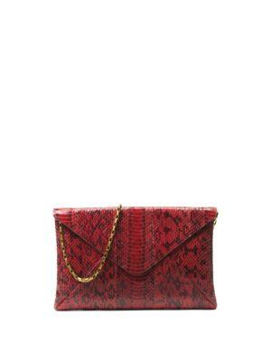 Michael Kors Collection Exotic River Clutch