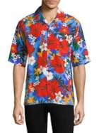 Ami Floral Camp Shirt