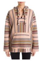 Alanui Baja Striped Cashmere Hoodie