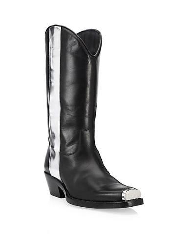 Calvin Klein 205w39nyc Ellie Western Leather Boots