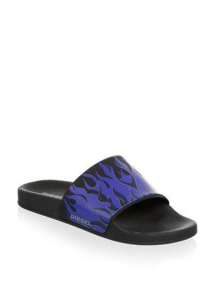 Diesel A-lohaa Sa-maral Slide Sandals
