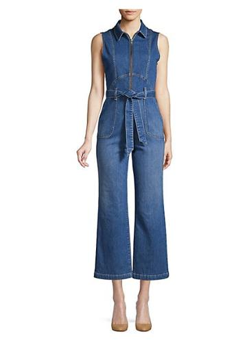 Alice + Olivia Jeans Gorgeous Denim Jumpsuit